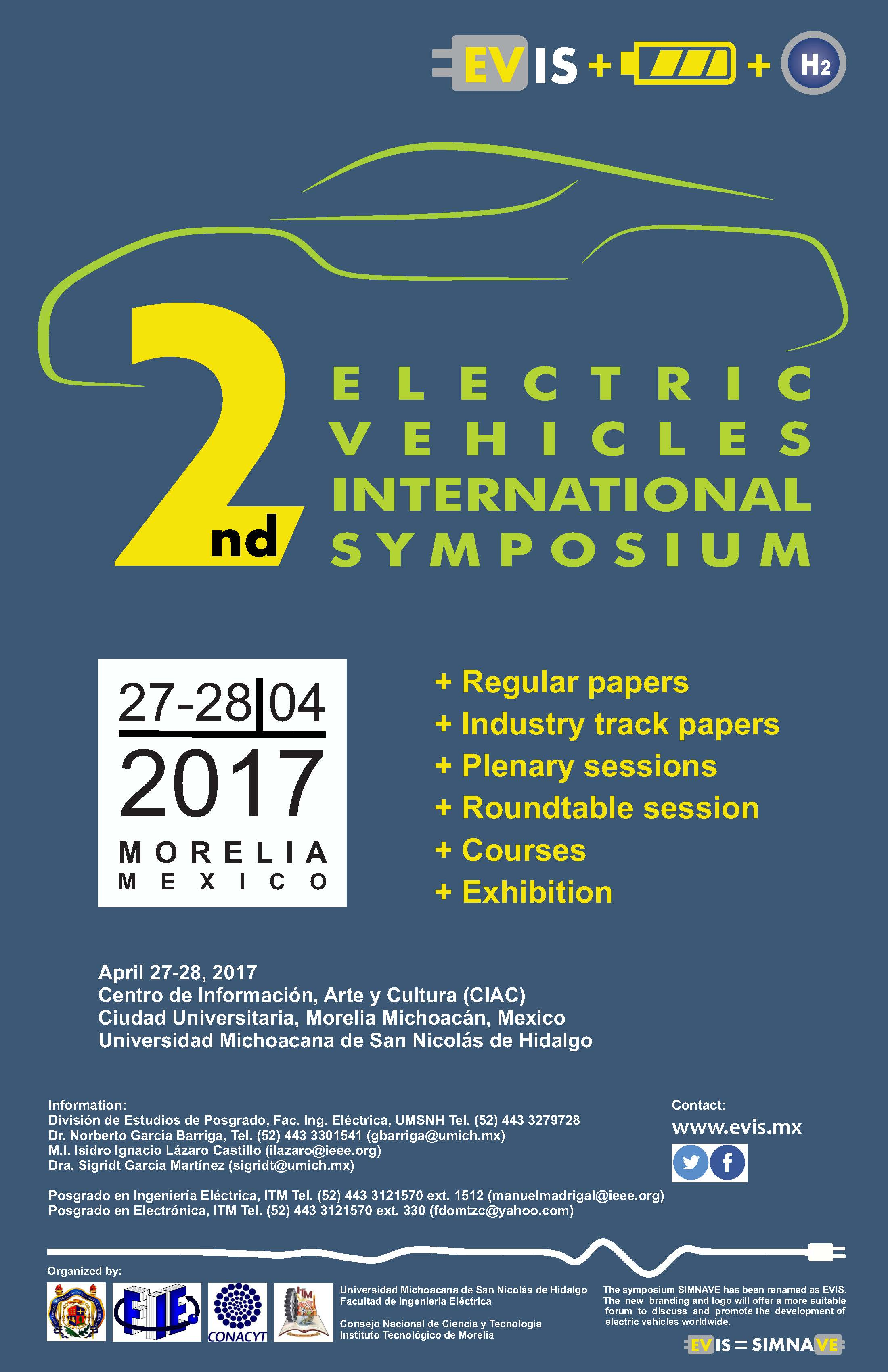 The Electric Vehicles International Symposium (EVIS)